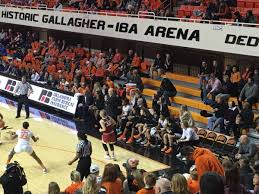Ou Men S Basketball Seating Chart Gallagher Iba Arena Oklahoma St Seating Guide