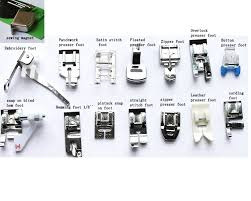 Brother Sewing Machine Feet List