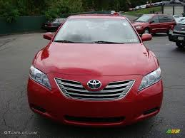 2007 Barcelona Red Metallic Toyota Camry Hybrid #1755874 Photo #7 ...