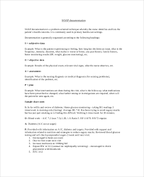 Soap Notes Nursing Soap Note Example 8 Samples In Pdf Word