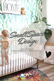 Small Space Design Solutions  Baby Nursery Edition