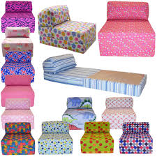 Single Chair For Bedroom Details About Cotton Print Single Chair Bed Z Guest Fold Out Futon