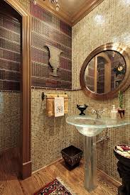 Wonderful Luxury Half Bathrooms Catchy Bathroom Ideas By Grand Property Stair With Concept Design