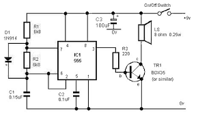 beginning electronics Simple Alarm Circuit Diagram circuit diagram of the alarm simple alarm circuit diagram with relay