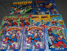 These books are perfect for the little superhero in your life who is learning and developing. Sold Price Superman Coloring Activity Books Calendars July 3 0118 10 00 Am Edt