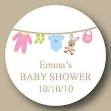 Custom Baby Shower Labels  Shower Label Favors Baby Pram  Mason Baby Shower Tags And Labels