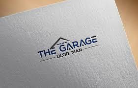logo design by blue berry for the garage door man design 16914285
