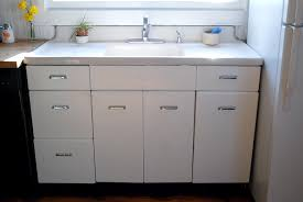 kitchen sink with cabinet vintage kitchen sink cabinet enamel