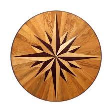 wood floor inlays. PID Floors 3/4 In. Thick X 36 Wide Circular Medallion Unfinished Wood Floor Inlays I