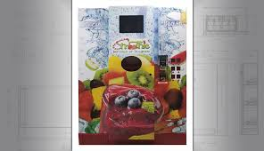Smoothie Vending Machine Amazing Smoothie Vending Machine Custom Vending Machine Design And