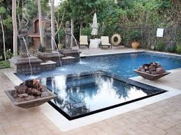 New Rectangle Pool With Hot Tub 27 In with Rectangle Pool With Hot