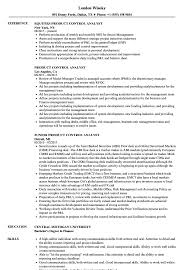 Product Analyst Resume Sample Product Control Analyst Resume Samples Velvet Jobs 19