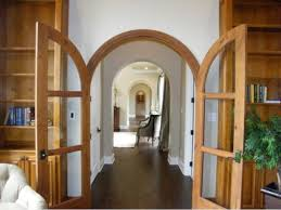 French Doors With Arches.