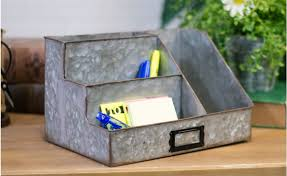 metal desktop organizer intended for desk organizers plan 13
