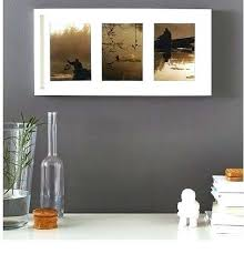 3 frame black wood opening collage picture white wooden frames rustic pictu