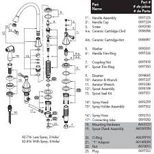 cool pegasus faucet cartridge glacier bay kitchen parts popular diagram 42 716 decoration elegant artistic