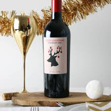 personalised wine gift