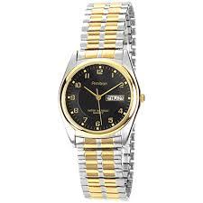 armitron men s casual analog watch 20 1143 two tone mens armitron men s casual analog watch 20 1143 two tone