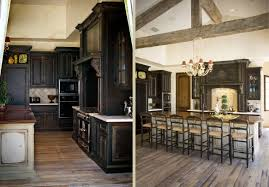 Rustic Kitchen Flooring Design Interesting Rustic Kitchen Lamiante Wooden Flooring Ideas