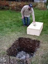 AN ANGEL RETURNS HOME  MiraclePoochDog Burial Backyard