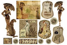 <b>Бумага</b> рисовая для <b>декупажа</b>, <b>Stamperia</b>, 48х33 см, Леопардовая ...