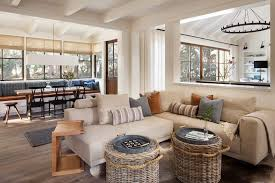 san francisco low profile furniture living room farmhouse with baskets transitional serving trays pass through