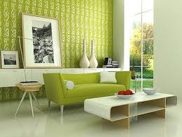 modern furniture interior design. Cute Green Wall Panels With Artwork Decors And Modern Sofas White Table Storage In Contemporary Living Room Ideas Furniture Interior Design