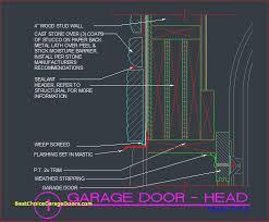residential garage door cad details pilotprojectorg