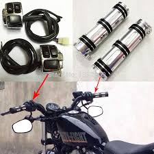popular wiring harness motorcycle buy cheap wiring harness motorcycle 1 handlebar wiring harness control switches edge cut hand grips for harley sportster