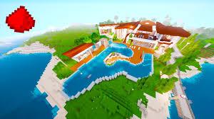 load modern beach. Redstone Beach House (REDSTONE MODERN HOUSE) - Minecraft Maps YouTube Load Modern