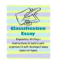 division and classification essay ideas