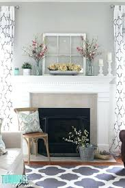 decorating mantels for spring window mantel decor spring decorating ideas for fireplace mantels