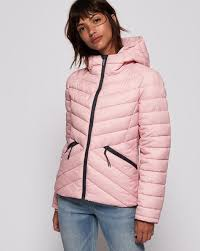 Superdry Windcheater Size Chart Helio Fuji Puffer Jacket With Hoodie