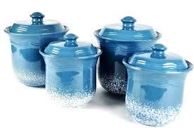 ceramic kitchen canister sets blue kitchen canister sets teal blue kitchen canisters ceramic black white striped