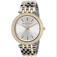 cheap gold mk watch for men gold mk watch for men deals on get quotations · michael kors women s gold silver tone glitz crystals dress watch mk3215
