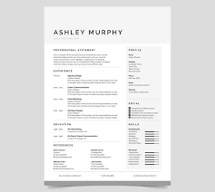 Microsoft Word Resume Template Beauteous Professional Simple Microsoft Word Resume Template 60 Professional
