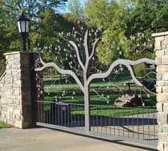fence gate design. Iron And Wooden Fence Gate Design Ideas R