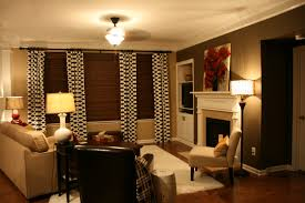Orange And Brown Living Room Decoration Paint And Accent Wall Ideas To Transform Your Room