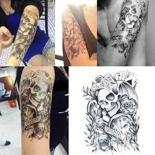 кость статуи будды временные татуировки наклейки водонепроницаемый татуировки