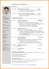 Download How To Write A Cv Resume Haadyaooverbayresort Com