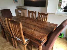 indian dining room furniture. Beautiful Dining Dining Table And 6 Chairs Indian Style Solid Wood Collection Only With Room Furniture D