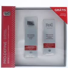 dels about roc pro define anti sagging firming fluid 40ml concentrate 50ml gift set