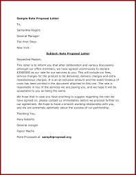 Bid Proposal Letter Proposal Letter Format Doc Valid Sealed Bid Fer Letter Template