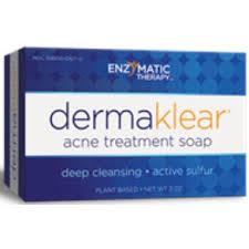 Enzymatic Therapy <b>DermaKlear Acne Treatment Soap</b> Benzyl ...