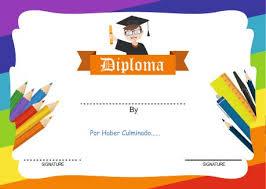 Hermosos Certificados Y Diplomas Para Editar E Imprimir La Web Del