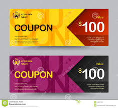 How To Design A Voucher In Word Gift Voucher Card Template Design For Special Time Coupon