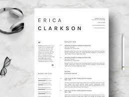 Resume Template Creative Clean P By Resume Templates On Dribbble