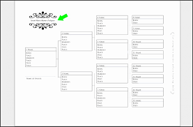 blank pedigree chart 4 generation 10 four generation family tree template free besttemplates