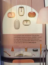 Lampen Pendant Lamp Schöner Wohnen Bunt Interior Lampen Schöner