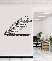 Take a look at these 10 ideas for office wall decor and you'll have your office feeling like home in no time. Amazon Com Office Wall Decals Teamwork Motivation Inspirational Office Art Wall Decor Office Quotes Wall Decals Wall Stickers For Office Arts Crafts Sewing